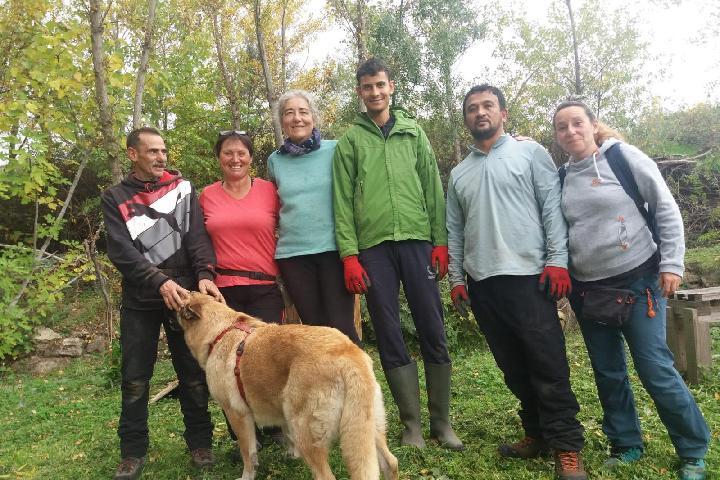 Inclusión Social en la huerta ecológica de Albalá