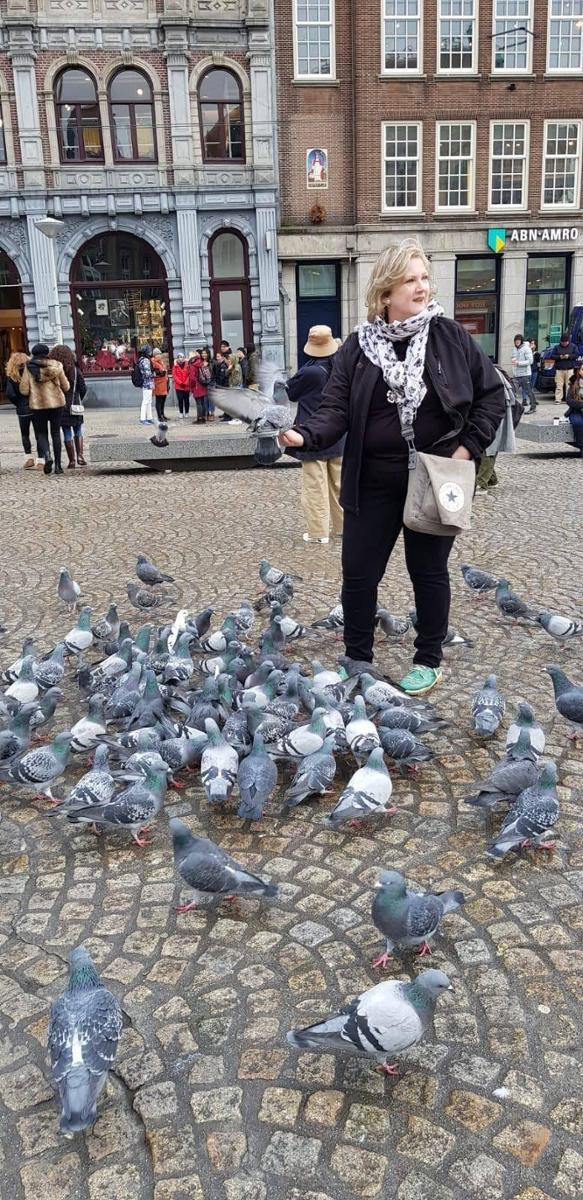 Taubenhilfe mit Herz