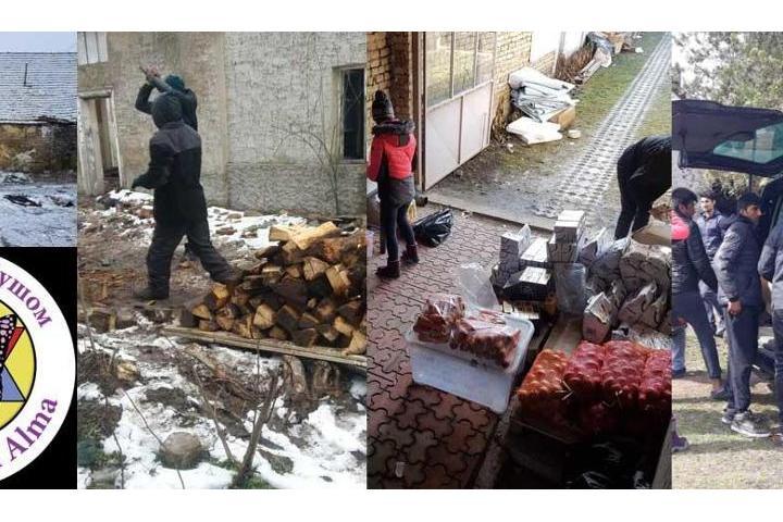 DRAGONFLY. Ayuda Humanitaria en Serbia.