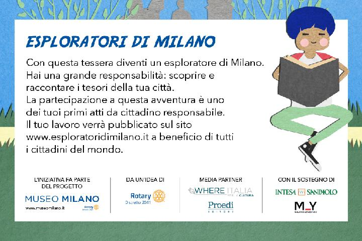 Explorers and Ambassadors of Milan for MuseoMilano