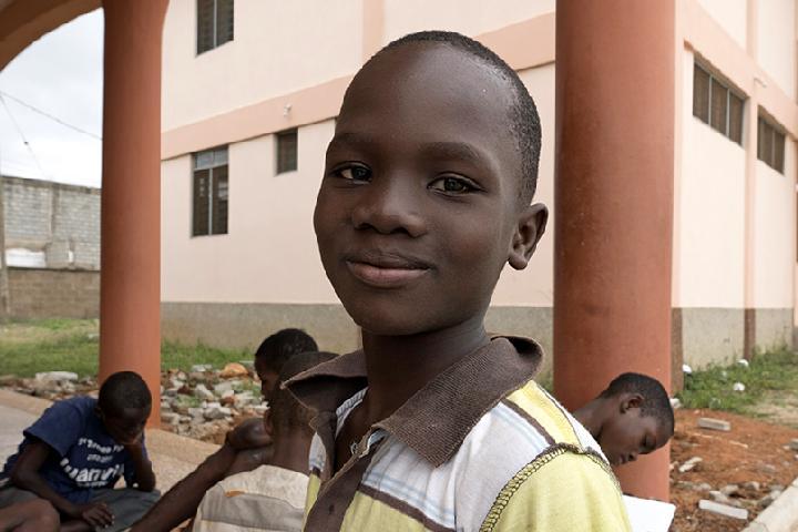 Ayuda Centro Protección de Menores en Ghana