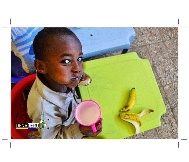 DENADERU - Desayunos para LOS MÁS PEQUES en ETIOPÍA