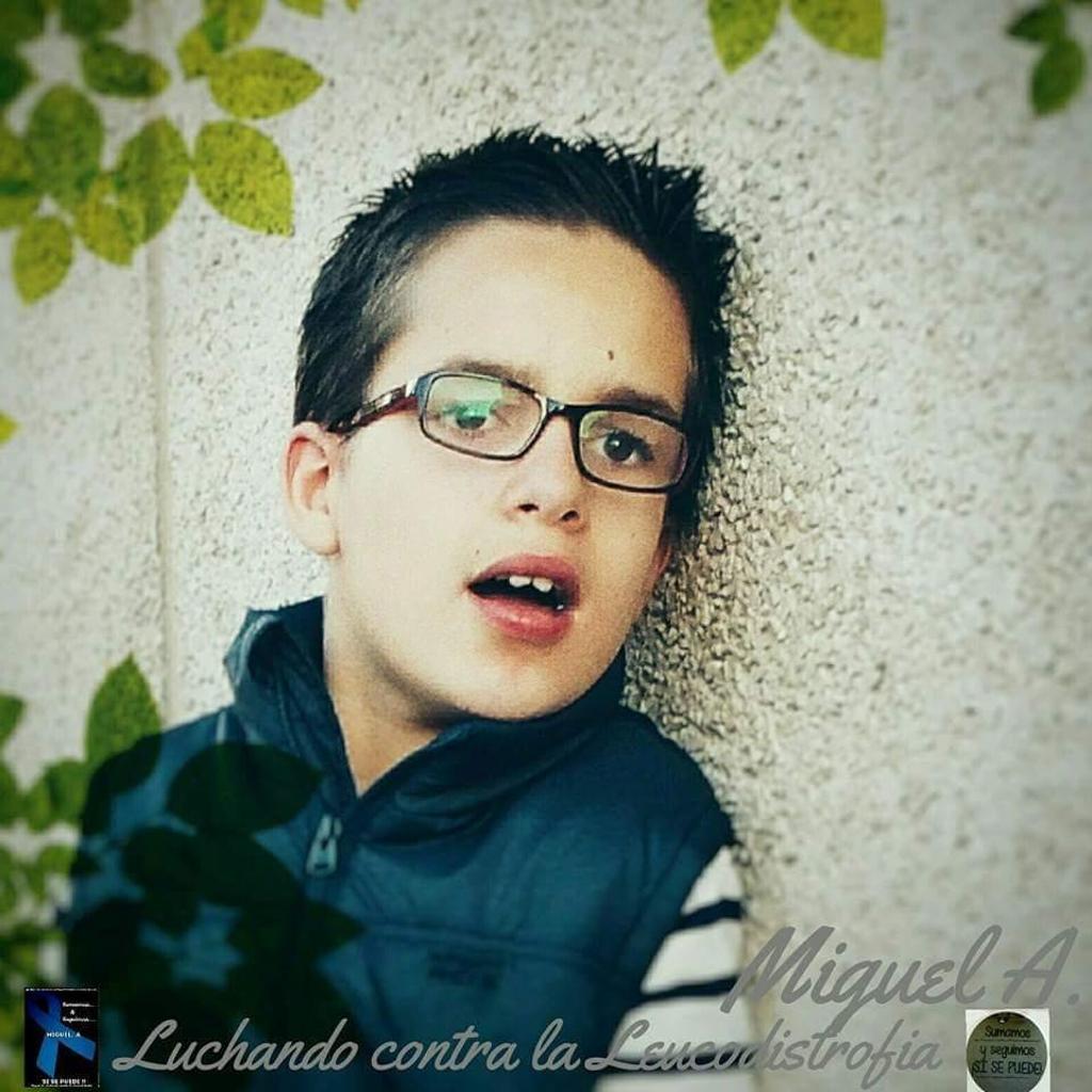 Miguel A.,luchando contra la Leucodistrofia