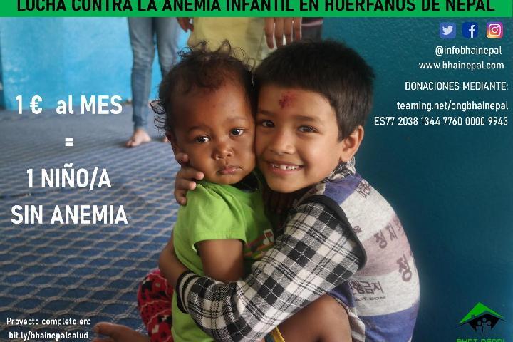 Bhai Nepal: Ayuda a los huérfanos de Nepal