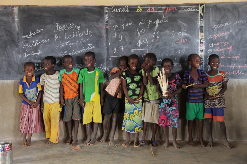 Creación de colegios en Burkina Faso