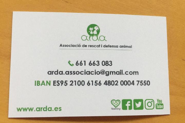 Associació de Rescat i Defensa Animal.A.R.D.A