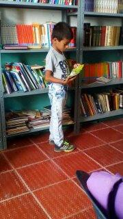 Microbibliotecas, Proyecto Biblioteca en El Salvador