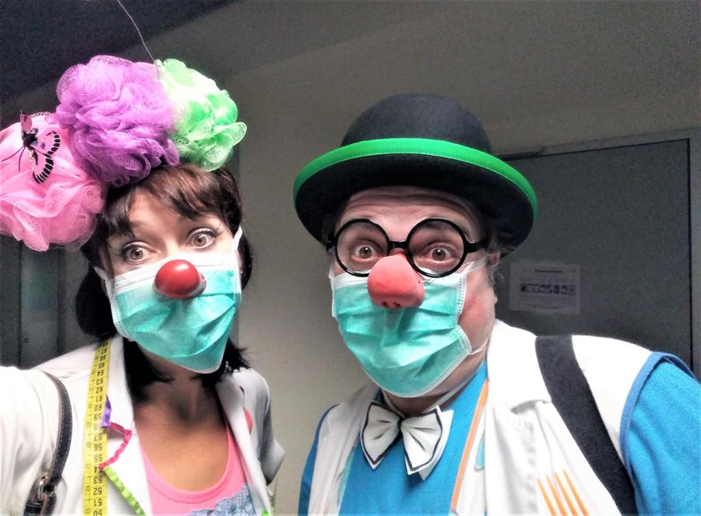 Clownrisas, clown social