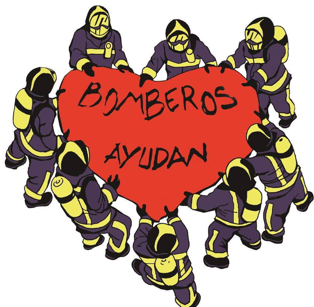 BOMBEROS AYUDAN