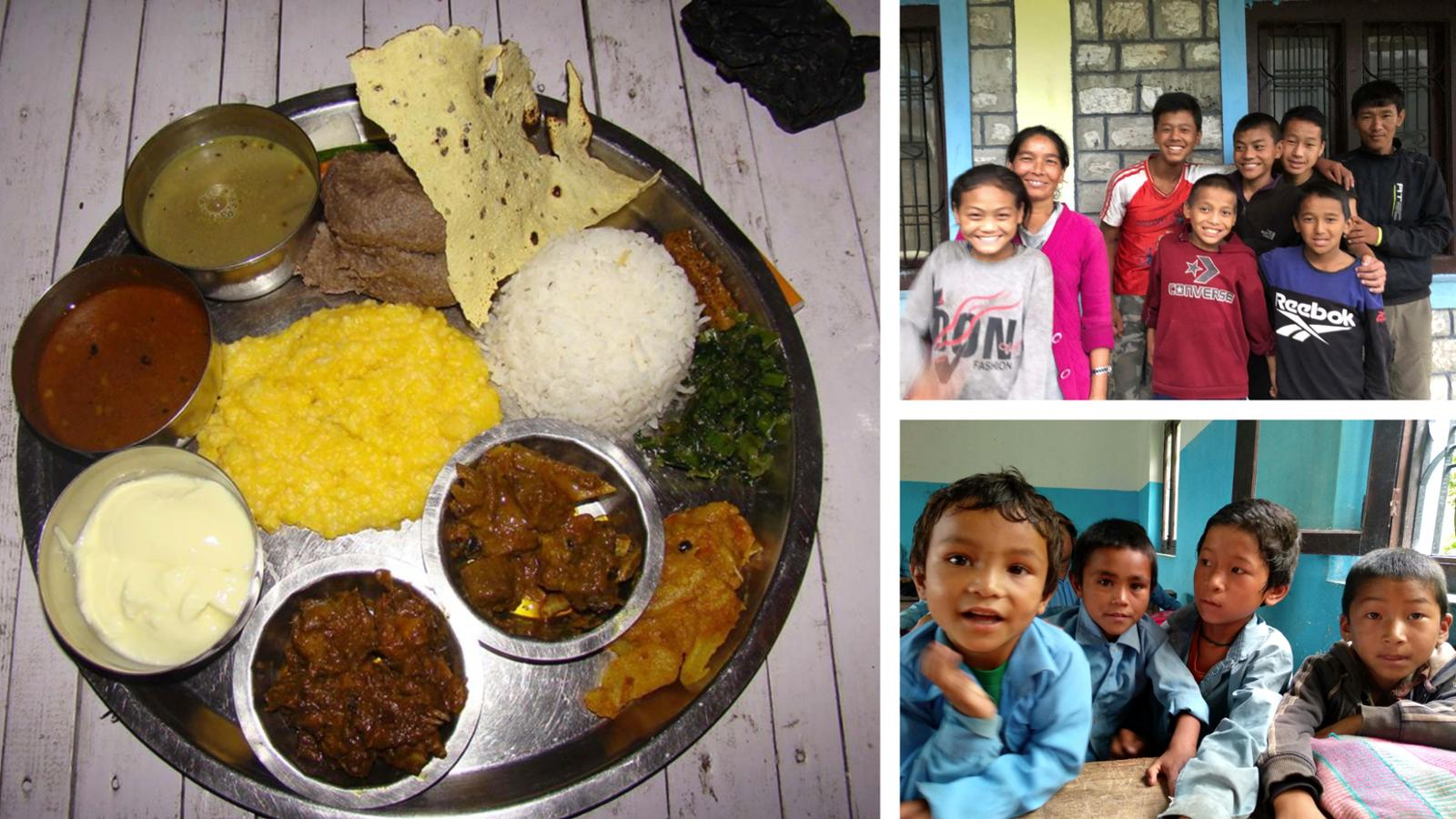 SOS Himalaya-Fcón Iñaki Ochoa de Olza. Proyecto 1 €, 1 comida