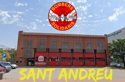 Bombers contra la crisi del COVID - Sant Andreu