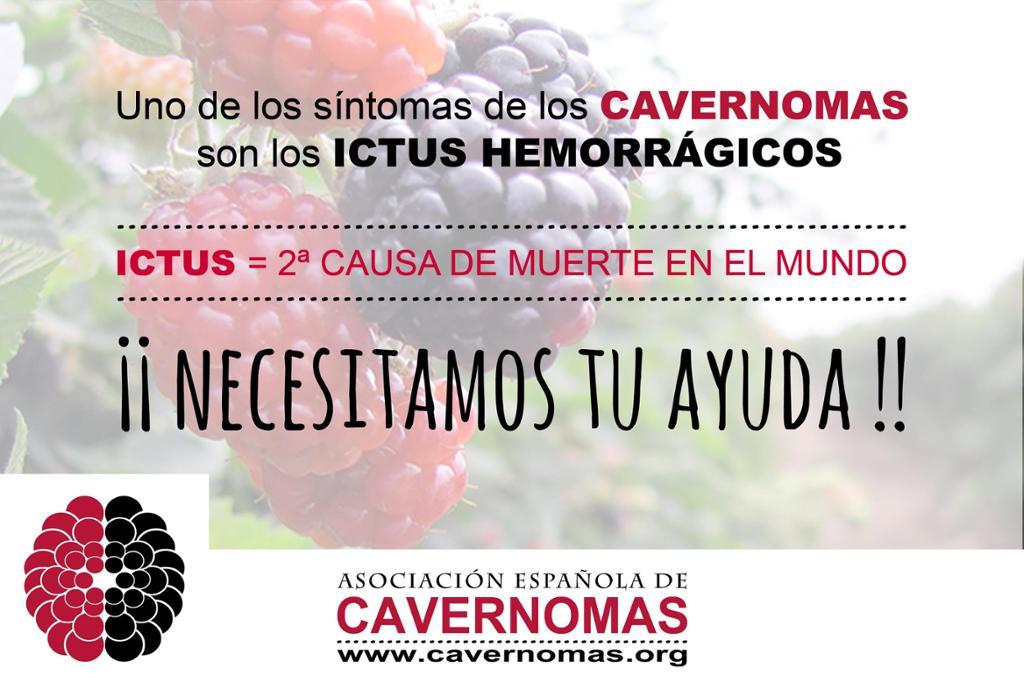 ICTUS/CAVERNOMAS  Van de la mano  La Información salva VIDAS  DIFUNDE AECCM