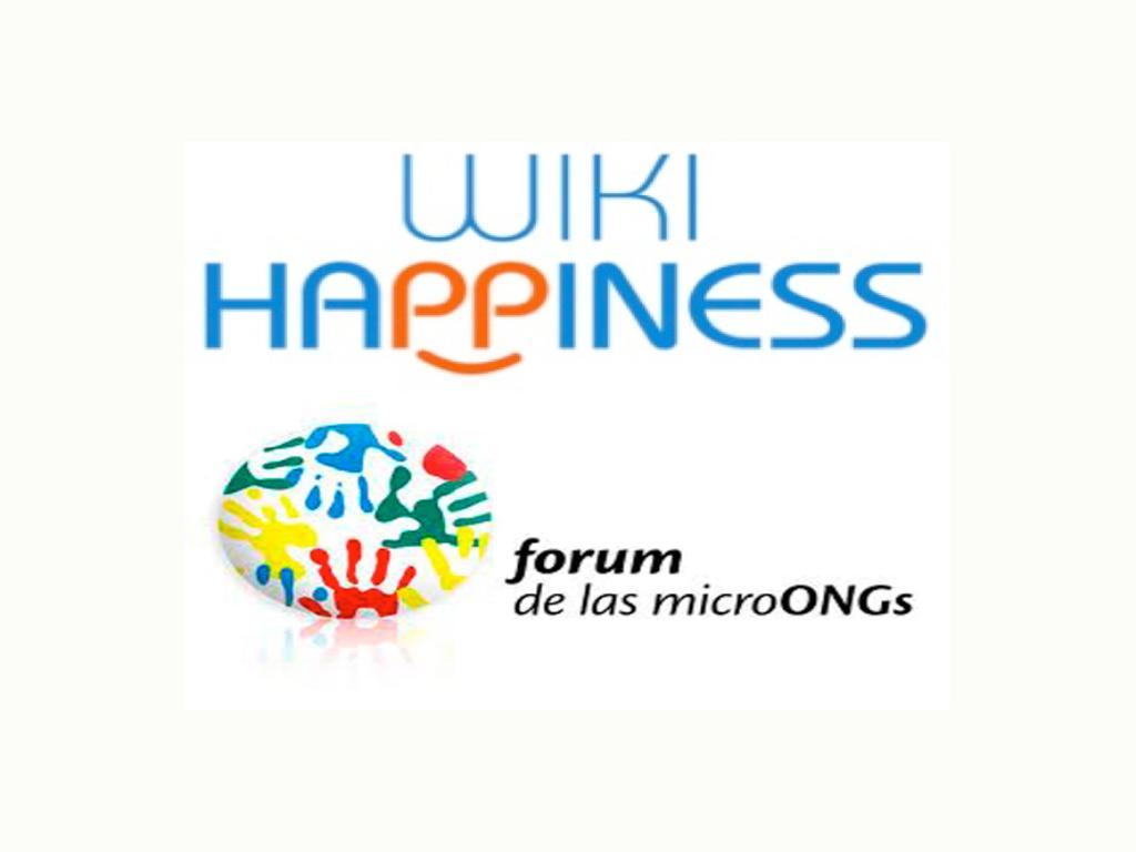 Wikihappiness - Forum de las MicroONGs