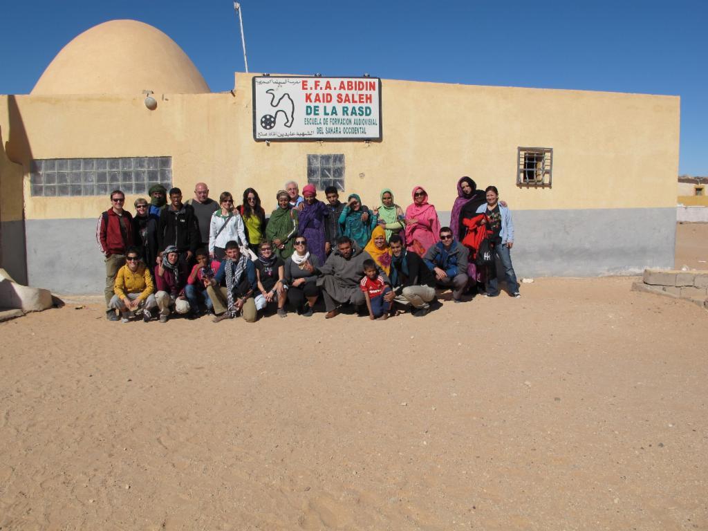 Yo apoyo a la Escuela de Cine del Sahara