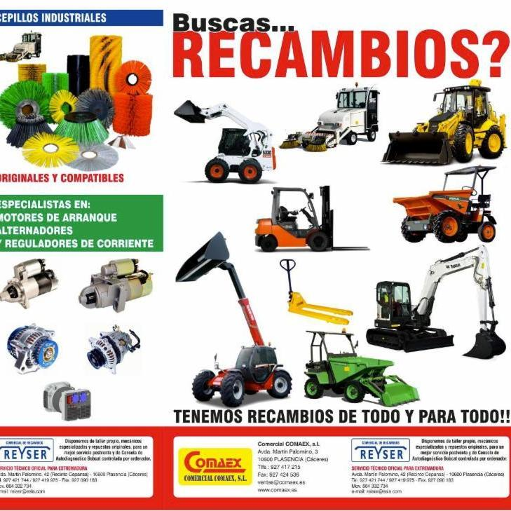 COMERCIAL RECAMBIOS SECTOR CONSTRUCCION