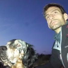 Eduardo Justa, cofundador Red de Protección Canina